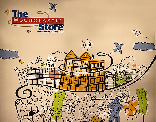 The Scholastic Store, Lower Manhattan, New York, New York