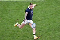 Stuart Hogg of Scotland in action during the rugby Autumn Nations Cup's match between Italy and Scotland at Stadio Artemio Franchi on November 14, 2020 in Florence, Italy. Photo Andrea Staccioli / Insidefoto