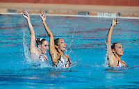 Stanford, CA; Saturday February 9, 2013: Synchronized Swimming, Exhibition.