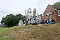 The pavilion during Wanstead and Snaresbrook CC (fielding) vs Brentwood CC, Hamro Foundation Essex League Cricket at Overton Drive on 19th June 2021