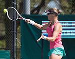 April 6,2017:  Mirjana Lucic-Baroni (USA) defeated Kiki Bertens (NED) 7-6, 6-4, at the Volvo Car Open being played at Family Circle Tennis Center in Charleston, South Carolina.  ©Leslie Billman/Tennisclix/Cal Sport Media