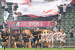 Germany vs Hong Kong during their Pool F match as part of the HSBC Hong Kong Rugby Sevens 2018 on 06 April 2018, in Hong Kong, Hong Kong. Photo by Marcio Rodrigo Machado / Power Sport Images