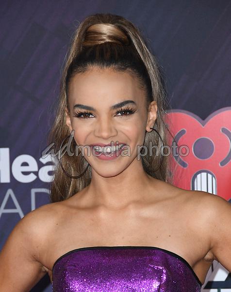 11 March 2018 - Inglewood, California - Leslie Grace. 2018 iHeart Radio Awards held at The Forum. Photo Credit: Birdie Thompson/AdMedia