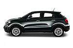 Car Driver side profile view of a 2019 Fiat 500X City-Cross 5 Door SUV Side View