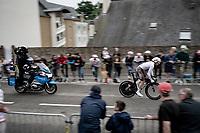 Oliver Naesen (BEL/AG2R Citroën)<br /> <br /> Stage 5 (ITT): Time Trial from Changé to Laval Espace Mayenne (27.2km)<br /> 108th Tour de France 2021 (2.UWT)<br /> <br /> ©kramon