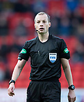 St Johnstone v Kilmarnock…24.11.18…   McDiarmid Park    SPFL<br />Referee Willie Collum<br />Picture by Graeme Hart. <br />Copyright Perthshire Picture Agency<br />Tel: 01738 623350  Mobile: 07990 594431