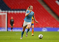 1st November 2020; Wembley Stadium, London, England; Womens FA Cup Final Football, Everton Womens versus Manchester City Womens; Sam Mewis of Manchester City Women