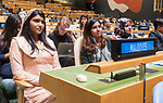72 General Debate – 20 September <br /> <br /> All female Maldives delegate at GA72