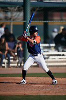 Josh Garcia during the Under Armour All-America Tournament powered by Baseball Factory on January 18, 2020 at Sloan Park in Mesa, Arizona.  (Mike Janes/Four Seam Images)