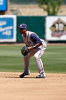 Edwin Maysonet  -  Round Rock Express playing against the Sacramento RiverCats at Raley Field, Sacramento, CA - 05/19/2009.Photo by:  Bill Mitchell/Four Seam Images