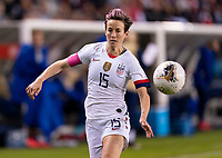 Megan Rapinoe #15 of the United States watches the ball