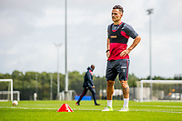 Wednesday 26 July 2017<br /> Pictured: Roque Mesa looks on during training <br /> Re: Swansea City FC Training session takes place at the Fairwood Training Ground, Swansea, Wales, UK