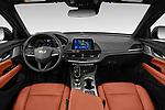 Stock photo of straight dashboard view of 2020 Cadillac CT4 Premium-Luxury 4 Door Sedan Dashboard