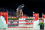 Gerco Schroder of The Netherlands riding Glock's Debalia  competes in the Masters One DBS during the Longines Masters of Hong Kong at AsiaWorld-Expo on 11 February 2018, in Hong Kong, Hong Kong. Photo by Diego Gonzalez / Power Sport Images