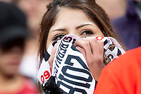 River Plate fans crying during  Commebol Final Match between River Plate and Boca Juniors at Santiago Bernabeu Stadium in Madrid, Spain. December 09, 2018. (ALTERPHOTOS/Borja B.Hojas) /NortePhoto.com