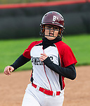 SOUTHBURY, CT 050721JS19—Pomperaug's Emily Carvalho (10) rounds third on her way home to score a run during their game with Bethel Friday at Pomperaug High School. <br /> Jim Shannon Republican American