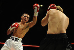 Lee Selby throws a punch during his clash against Jimmy Briggs. Joe Calzaghe Promotions Boxing Evening .Date: Friday 20/11/2009,  .© Ian Cook IJC Photography, 07599826381, iancook@ijcphotography.co.uk,  www.ijcphotography.co.uk, .