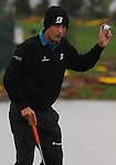 4 October 2008: Charles Howell III acknowledges the crowd after a birdie putt during the third round at the Turning Stone Golf Championship in Verona, New York.