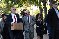 Roger Stone, former campaign adviser to United States President Donald J. Trump, arrives to federal court in Washington D.C., U.S., on Tuesday, November 5, 2019.  Credit: Stefani Reynolds / CNP /MediaPunch