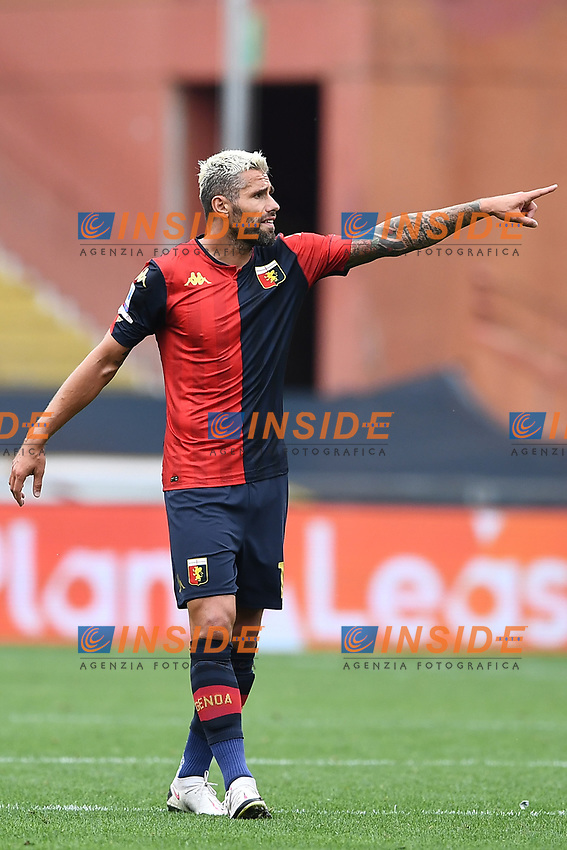 Valon Behrami <br /> Serie A football match between Genoa CFC and FC Crotone at Marassi Stadium in Genova (Italy), September 20th, 2020. Photo Image Sport / Insidefoto