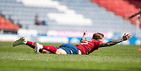 24th April 2021; Ewood Park, Blackburn, Lancashire, England; English Football League Championship Football, Blackburn Rovers versus Huddersfield Town;  Danny Ward of Huddersfield Town appeals for a penalty