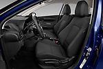 Front seat view of 2021 Hyundai I20 Sky 5 Door Hatchback Front Seat  car photos
