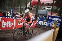 Lars Boom (NLD/Astana)<br /> <br /> Men's Elite Race<br /> <br /> UCI 2016 cyclocross World Championships,<br /> Zolder, Belgium