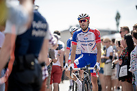 Thibaut Pinot (FRA/Groupama-FDJ) at the race start in Brussels<br /> <br /> Stage 1: Brussels to Brussels(BEL/192km) 106th Tour de France 2019 (2.UWT)<br /> <br /> ©kramon