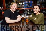 Sarah Carey and Sandra Walsh enjoying the evening in the Brogue Inn on Thursday