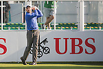 David Howell of England tees off the first hole during the 58th UBS Hong Kong Open as part of the European Tour on 08 December 2016, at the Hong Kong Golf Club, Fanling, Hong Kong, China. Photo by Marcio Rodrigo Machado / Power Sport Images