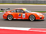 Anthony Weyland (11) in action during the V8 Supercars and the Porsche GT3 Cup cars practice sessions at the Circuit of the Americas race track in Austin,Texas. ..
