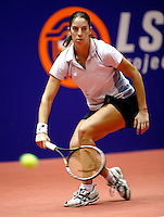 20031209, Rotterdam, LSI Masters, Jolanda Mens moet haar meerdere erkennen in Elise Tamaela
