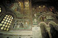 Mosaic detail. Ravenna, Italy Europe.