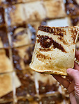 WITH VIDEO<br /> <br /> An artist has created the ultimate 'love or hate' collage - a portrait of Piers Morgan drawn with Marmite on toast.  The impressive work was made by spreading a jar of the yeast extract spread onto 35 slices of toast, and took three painstaking hours to complete.<br /> <br /> Morgan, 55, quit ITV's flagship breakfast show Good Morning Britain this week after storming out when his comments about Meghan, Duchess of Sussex again polarised opinion.  Ofcom received over 41,000 complaints from viewers, including a complaint from the Duchess of Sussex herself.  SEE OUR COPY FOR DETAILS.<br /> <br /> Please byline: Nathan Wyburn/Solent News<br /> <br /> © Nathan Wyburn/Solent News & Photo Agency<br /> UK +44 (0) 2380 458800