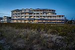 Madison Beach Hotel at dusk.