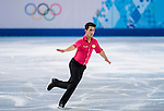 Liam Firus of Canada competes during Figure Skating Men's Short Program of the 2014 Sochi Olympic Winter Games at Iceberg Skating Palace on February 12, 2014 in Sochi, Russia. Photo by Victor Fraile / Power Sport Images