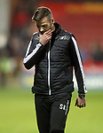 04.05.2018 Partick Thistle v Ross County: Dejection from Stuart Kettlewell