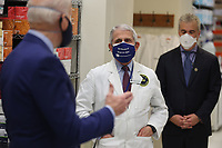 President Joe Biden and Dr. Anthony Fauci at the National Institutes of Health on Thursday, February 11, 2021 in Bethesda, Maryland. <br /> CAP/MPI/RS<br /> ©RS/MPI/Capital Pictures