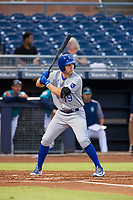 AZL Royals Brewer Hicklen (19) at bat against the AZL Mariners on July 29, 2017 at Peoria Stadium in Peoria, Arizona. AZL Royals defeated the AZL Mariners 11-4. (Zachary Lucy/Four Seam Images)