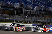 NASCAR Camping World Truck Series<br /> Ford EcoBoost 200<br /> Homestead-Miami Speedway, Homestead, FL USA<br /> Friday 17 November 2017<br /> Myatt Snider, Liberty Tax Service Toyota Tundra and Tyler Young, Randco/Young's Building Systems Chevrolet Silverado<br /> World Copyright: Nigel Kinrade<br /> LAT Images