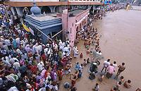 INDIA, Maharashtra, Nasik, Hindu festival Kumbha Mela / INDIEN, Nasik, Hindu Festival Kumbh Mela
