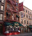 Da Nico Restaurant, Little Italy, New York, N.Y.
