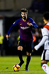 Gerard Pique Bernabeu of FC Barcelona in action during the La Liga 2018-19 match between Rayo Vallecano and FC Barcelona at Estadio de Vallecas, on November 03 2018 in Madrid, Spain. Photo by Diego Gouto / Power Sport Images