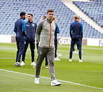 23.10.2019 Rangers press conference , Porto: Steven Gerrard checking out the stadium