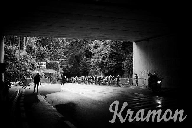 under the bridge<br /> <br /> 50th GP Jef Scherens 2016