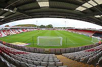 General view of the ground during Stevenage vs Plymouth Argyle, Sky Bet EFL League 2 Football at the Lamex Stadium on 8th October 2016