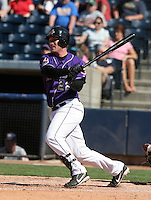 Akron Aeros Ryan Mulhern during an Eastern League game at Canal Park on April 15, 2006 in Akron, Ohio.  (Mike Janes/Four Seam Images)