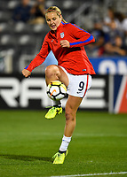 Commerce City, CO - Friday September 15, 2017: Lindsey Horan during an International friendly match between the women's National teams of the United States (USA) and New Zealand (NZL) at Dick's Sporting Goods Park.