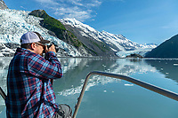 Photographing Glaciers in Barry Armof Prince William Sound Harriman Fjord <br /> <br /> <br /> Photo by Jeff Schultz/  (C) 2019  ALL RIGHTS RESERVED