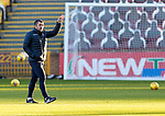 Motherwell v St Johnstone…28.11.20   Fir Park      BetFred Cup<br />St Johnstone manager Callum Davidson<br />Picture by Graeme Hart.<br />Copyright Perthshire Picture Agency<br />Tel: 01738 623350  Mobile: 07990 594431